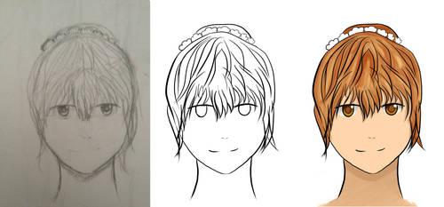 Face comparison by redangel130