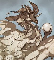 Commission - Flight Rising - Shamika by Vierdz