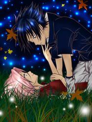Sasuke and Sakura 4ever by MuzzaThePerv