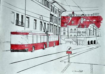 Strasse. by Nadeshiko-Haruchene