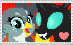 Thorax X Gabby Shipping Stamp by MockingjayBases