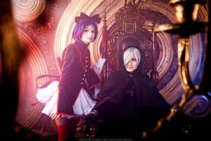 Gybid and Choko by KyoudaiCosband