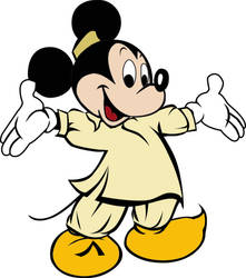 Mickey Mouse As Pakistani by ArsalanKhanArtist