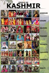 People of Kashmir by ArsalanKhanArtist