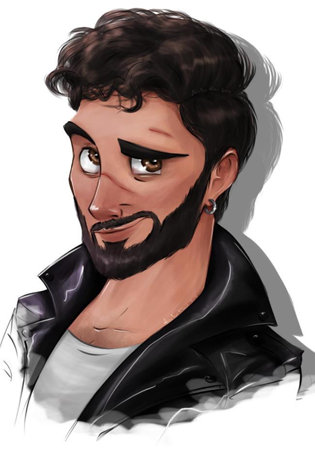 Abdullah The Badboy by ArsalanKhanArtist
