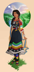 Princess Anang The Seven Daughters of the Sky by ArsalanKhanArtist