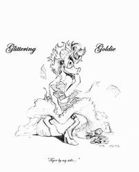 Glittering Goldie Pin-Up by GlitteringGoldie