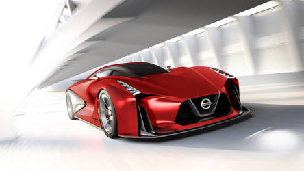 Nissan Concept 2020 Vision GranTurismo by GGalleonAlliance