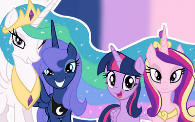 The Royal Princesses (Wallpaper) by GGalleonAlliance