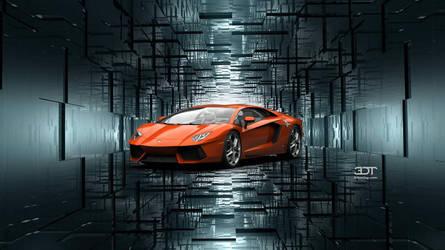 Twilight (Lamborghini Aventador LP 700-4) by GGalleonAlliance