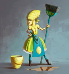 Miss Lemon Maid by Saskle