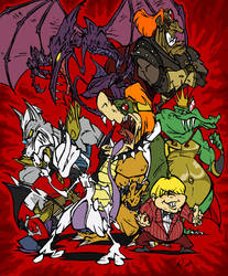Nintendo Villains - 2009 by BrendanCorris