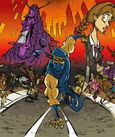 Ninja Gaiden by BrendanCorris
