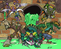 TMNT Badguys by BrendanCorris