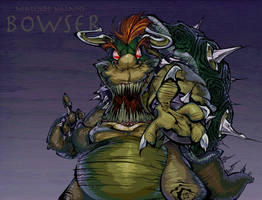 Nintendo Villains - Bowser by BrendanCorris