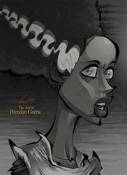 Bride of Frankenstein by BrendanCorris