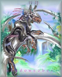 Thanator Pandora's panther by ShadowSaber