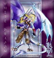 Neo White Dragon NL by ShadowSaber