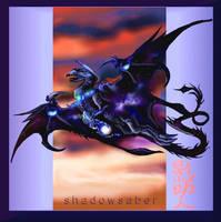 New Moonstone Dragon by ShadowSaber