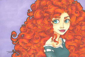 Sketch Card: Merida by TLSeely