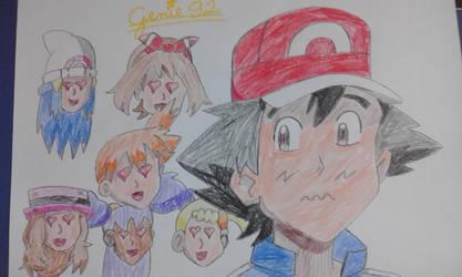 We love you Ash! by Genie92