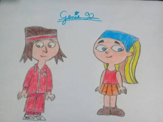 Total DramaRama - Lindsay and Tyler by Genie92