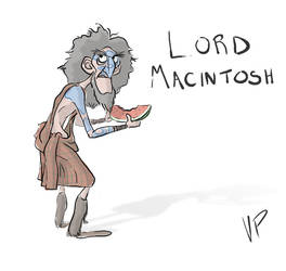 Lord Macintosh From Pixars Brave by stumpy32