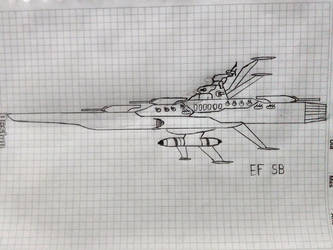 Earth Federation Space Battleship (Standard) by Flyingtaco2002