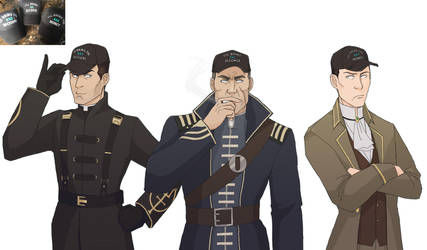 Draw the squad: Loyalists + hats edition by lady-voldything
