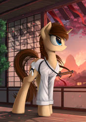 Tachi pony (Patreon reward) by Yakovlev-vad