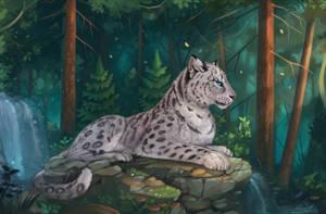 Snow Leopard by Yakovlev-vad