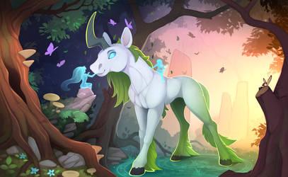 Taming unicorn by Yakovlev-vad