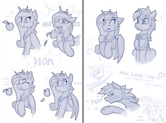 Force Majeure (Sketch) by Yakovlev-vad