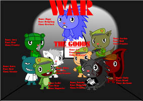 HTF war the goods by WhityTheFox