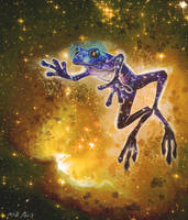 Genesis Frog (Universe A) by miirshroom