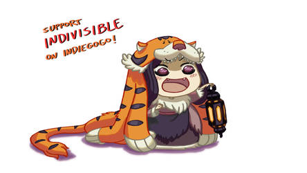 Indivisible: Razmi-chan by southpawper
