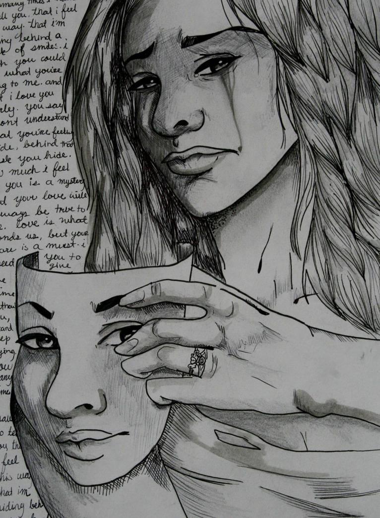 Self-Portrait-surreal by TellMeTheBlues