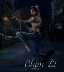 Chun Li by TellMeTheBlues