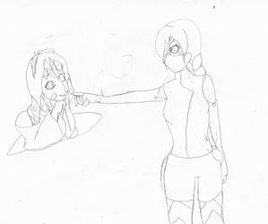 Asami and  Ahston by Zeroice1