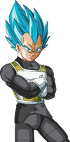 SSGSS Vegeta Arms Crossed by DragonBallAffinity