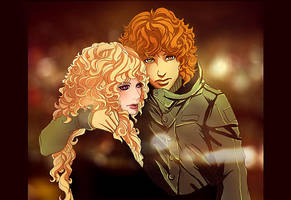 Reigan and Red by Anastasven