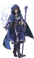 Wheel of Time, Moiraine by dragoninstall