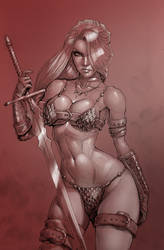 Red Sonja by MRGunn-Art