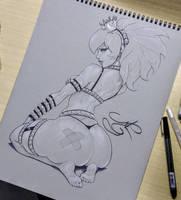 Thwompette by MRGunn-Art