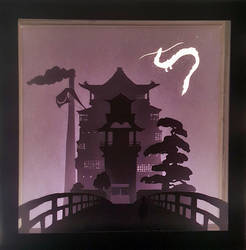 Spirited Away Light box by HimeGabi