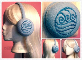 Water Tribe Earmuffs by HimeGabi