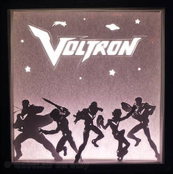 Defenders - Voltron Light Box by HimeGabi