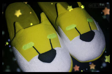 Hunk's Lion Slippers by HimeGabi