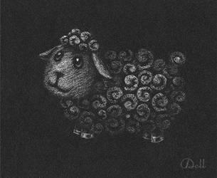 White Sheep by Katy-Doll