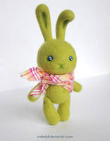 Green rabbit 04 by Katy-Doll